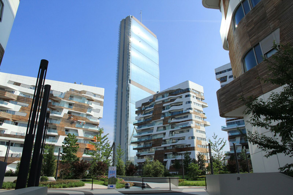 La Torre Allianz a CityLife